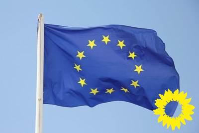 Superergebnis für GRÜNE in Europa