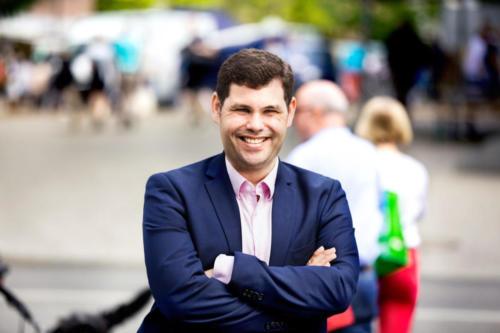 Dennis Paustian-Döscher, stellvertretender Fraktionsvorsitzender (Wahlkreis Wandsbek Kerngebiet und Eilbek)